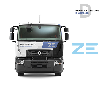 D WIDE ZE Renault trucks | Groupe Marty